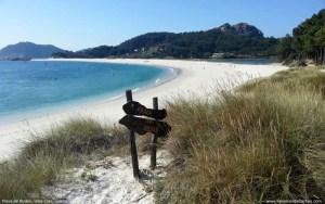 Playa de Rocha en Islas Cíes