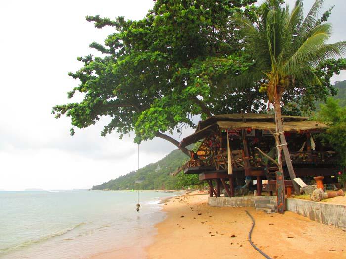 Playa Haad Rin Nai, perfecta para ver los atardeceres