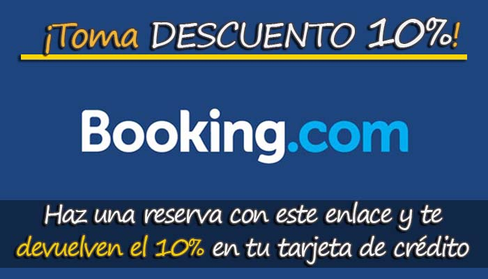Descuento Booking 10%