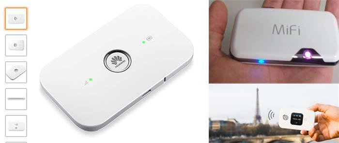 Mifi Travel Wifi portátil para viajar regalo viajeros