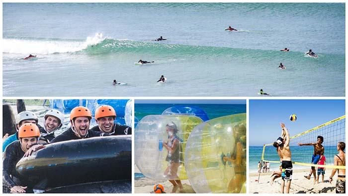 Actividades escuela de surf en la mejor playa de España para aprender a surfear