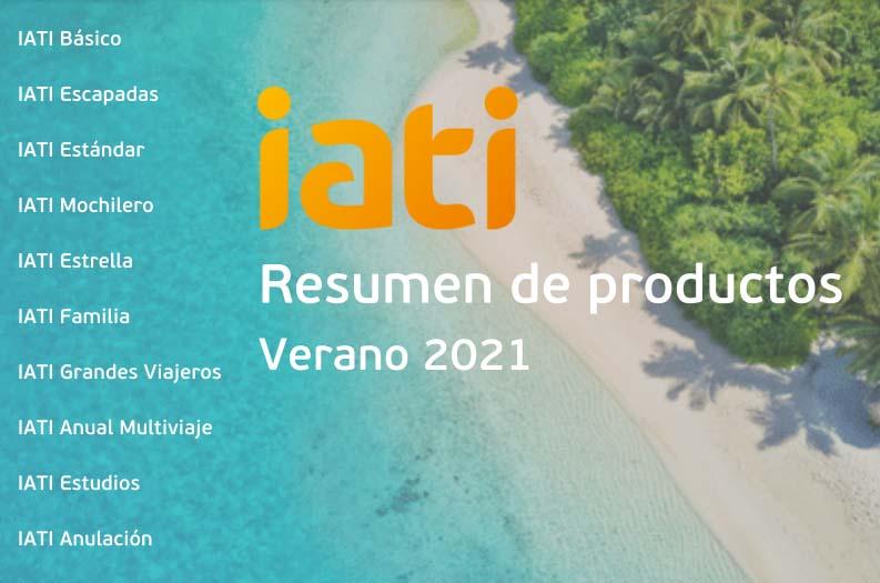 Resumen de seguros IATI verano 2021