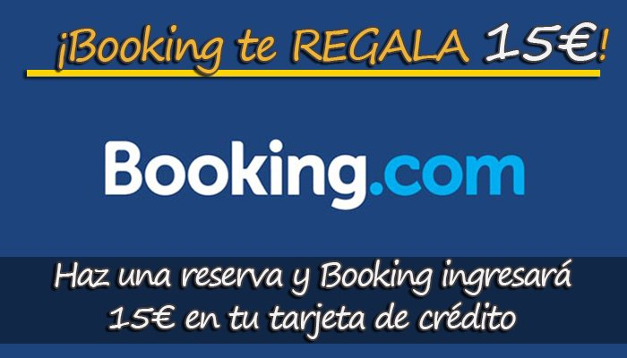 Booking te regala 15€