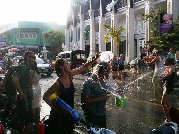 ¿Qué tengo que saber sobre el festival del agua? Tailandia