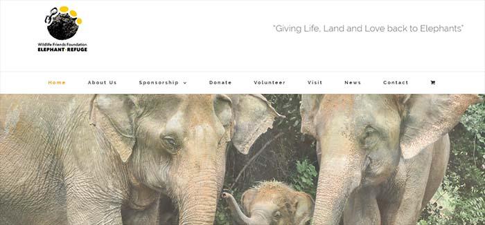 Thai Elephant Refuge recomendado FAADA