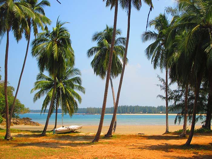 Koh Phra Thong playas