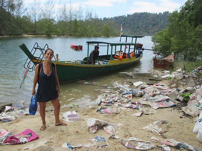 Basura en Tailandia