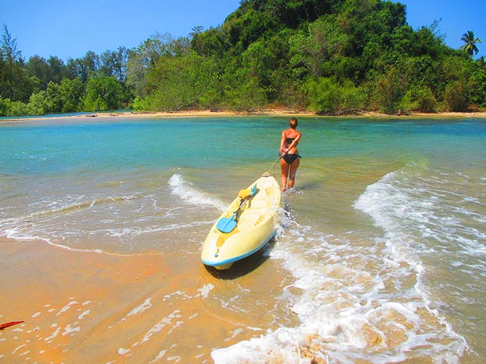 Kayaking Koh Phra Thong