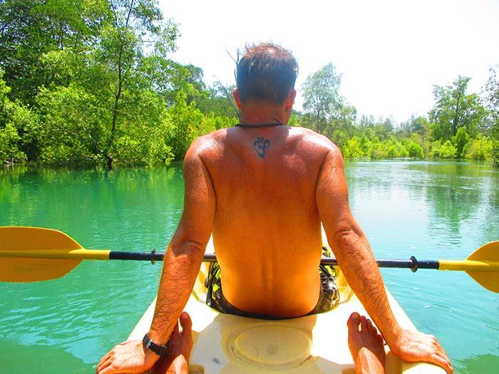 Kayak por los manglares de Koh Phra Thong