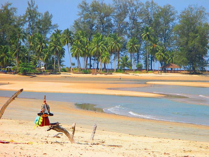 Dónde está Koh Phra Thong