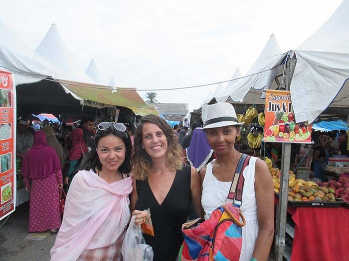 Market en Laksa Ikan Sekoq Langkawi