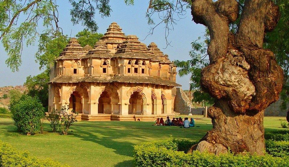 Lotus Mahal en Hampi
