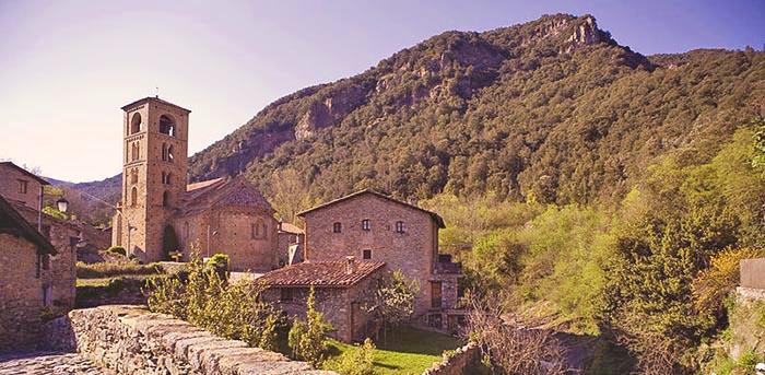 Los mejores pueblos medievales de Cataluña. Beget