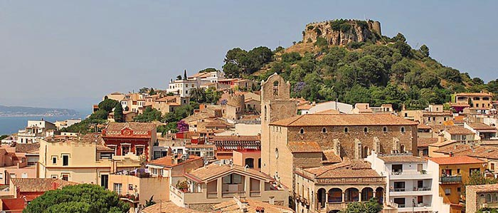 Los mejores pueblos medievales de Cataluña. Begur