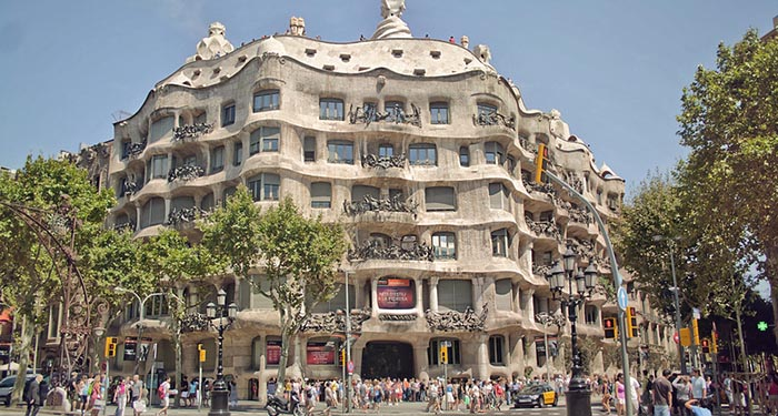Top 10 de actividades en Barcelona. La Pedrera