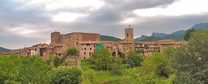 Los mejores pueblos medievales de Cataluña. Santa Pau