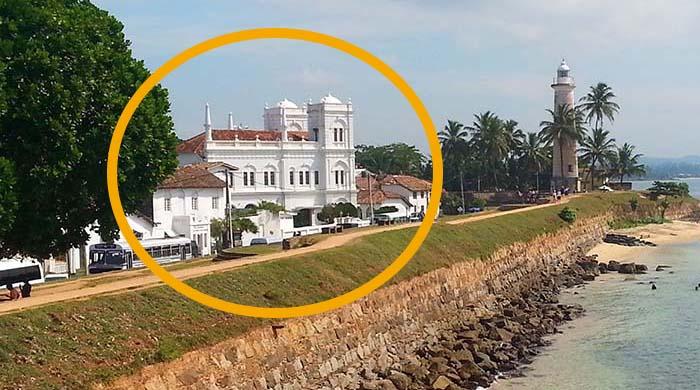 ¿Qué ver en Galle? Mezquita Meeran