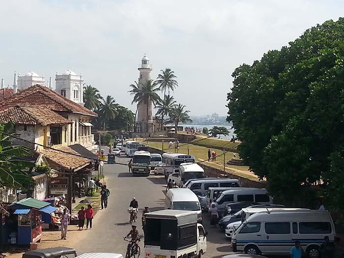 Historia de la ciudad de Galle en Sri Lanka