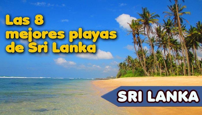 Las 8 mejores playas de Sri Lanka