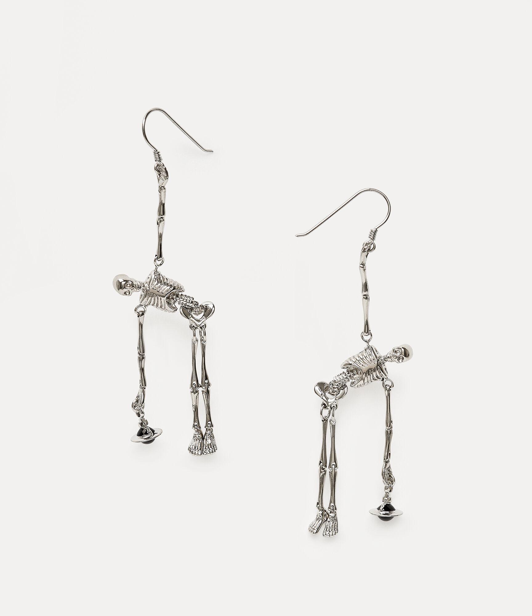 Skeleton Earrings Earrings Women Vivienne Westwood