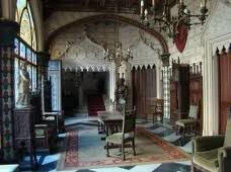 salone del castello Naveira