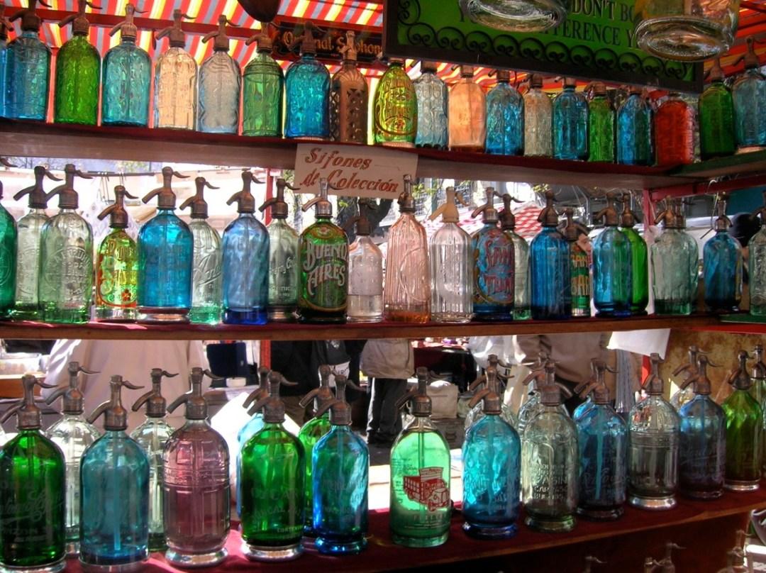 Sifones al mercatino di San Telmo