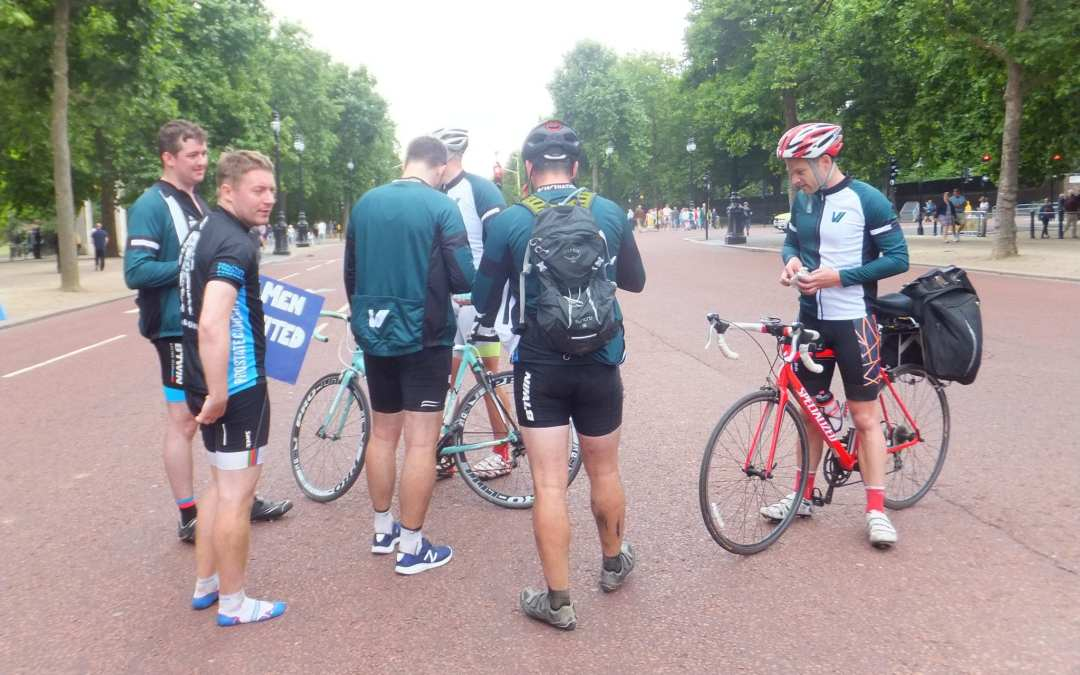 Paris to London 24-hour cycle challenge: Video highlights