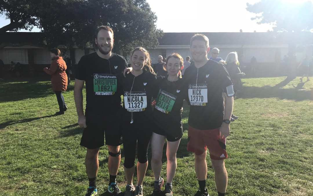 Marathon training journey – part 2 – The Great South Run