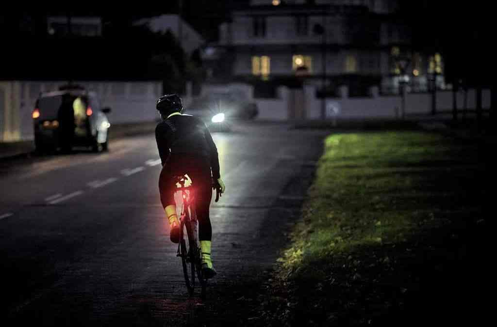 Top tips for cycling at night