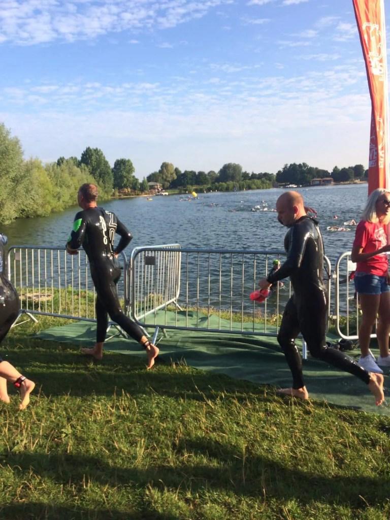 half-ironman training swim