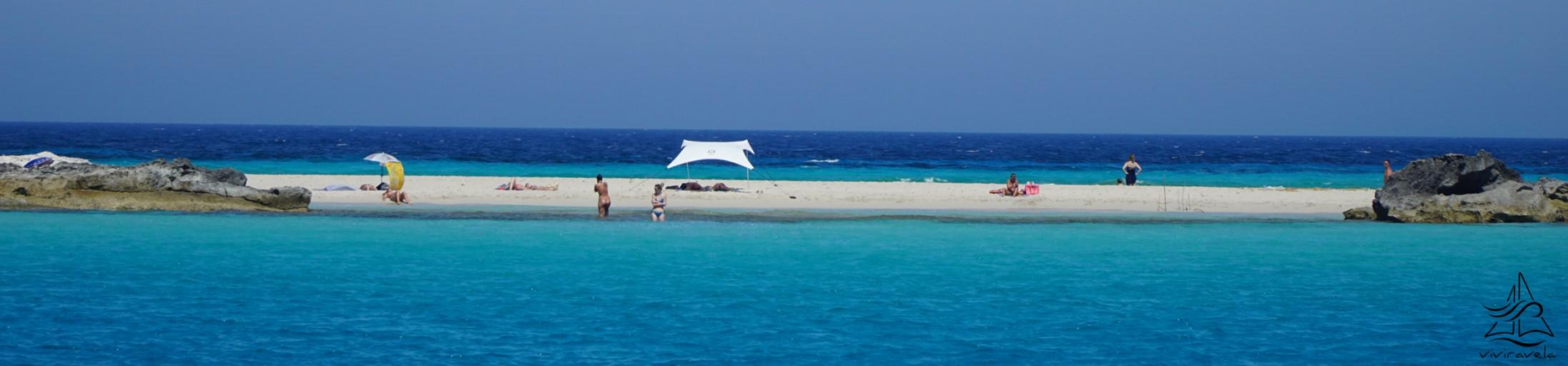 Ses Illetes Formentera arena blanca y mar azul