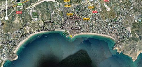 Playa Cala Mal del Pas Benidorm