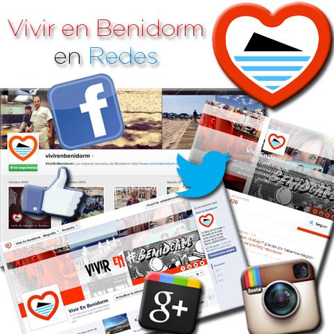 Redes sociales Vivir en Benidorm