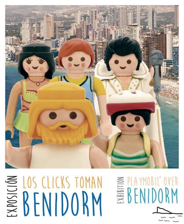 Los clicks en Benidorm