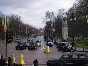 Coches en Londres