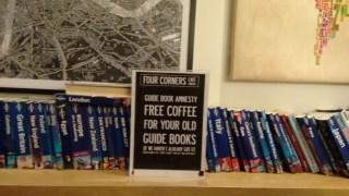 Four Corners Cafe: libros de viaje