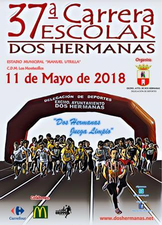 CARTEL CARRERA ESCOLAR 2018