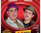 Circosta – Graziosi in ShowKezze al Teatro Marconi dall'8 al 18 marzo 2018