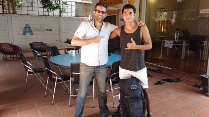 proposito de viaje: voluntario en Siem Reap