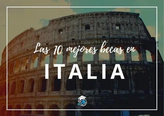 Becas para estudiar en Italia gratis