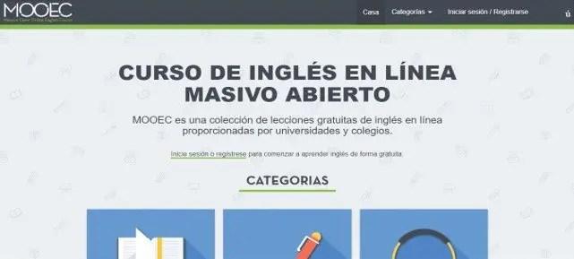 Mooec: Curso de inglés en línea masivo y abierto