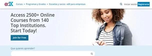edx: cursos de inglés gratis online