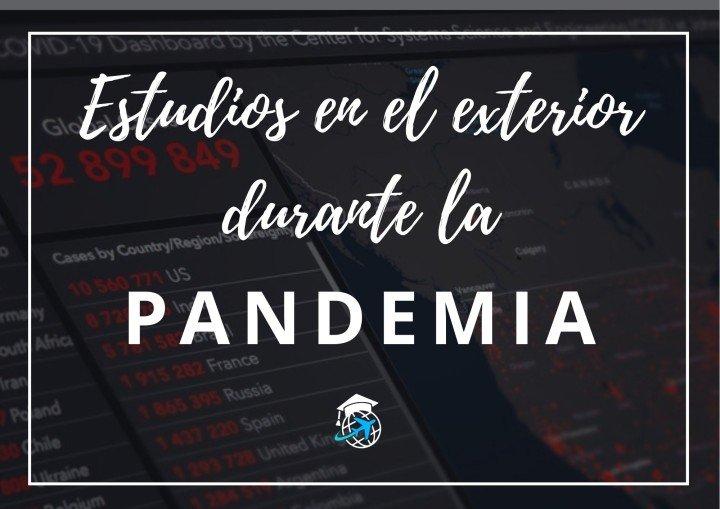 estudiar en el exterior durante pandemia