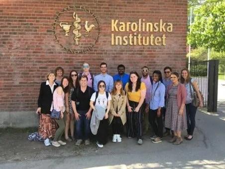 Becarios en Suecia de la universidad Karolinska
