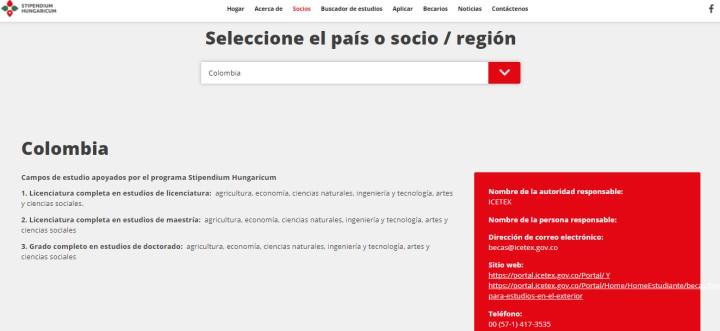 Convenio de Colombia para estudiar en Hungría