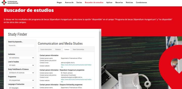 Estudia Comunicación Social en Hungría