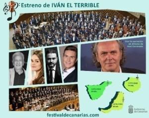 Iván El Terrible @ Auditorio de Tenerife Adán Martín | Santa Cruz de Tenerife | Canarias | Spagna