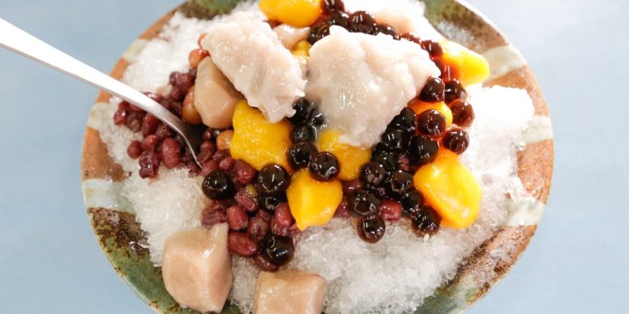 [台中美食]老芋仔芋圓|大坑人氣排隊小吃~芋頭專賣品項甜食.必點綜合芋圓 @VIVIYU小世界