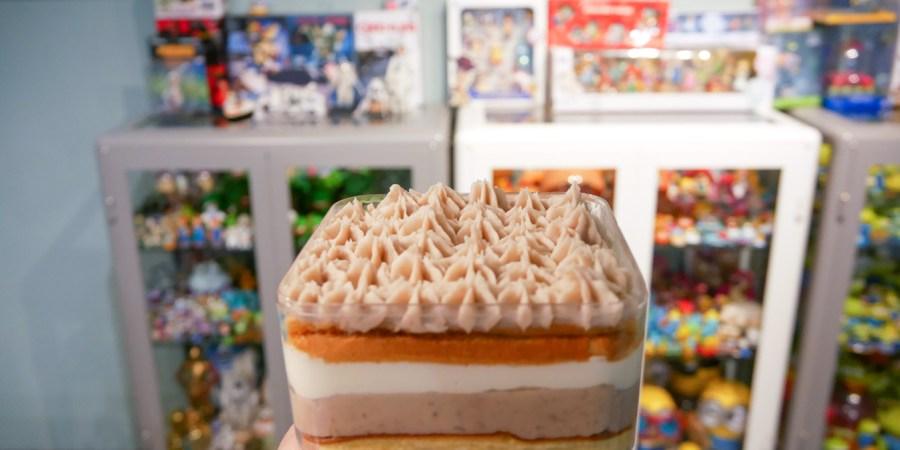 [新北市美食]Tips coffee|林口三井OUTLET附近巷弄中的甜點店~手作甜點芋頭珠寶盒與檸檬塔 @VIVIYU小世界