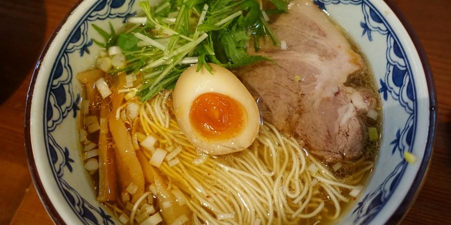 [日本.美食]銀座梵天.Ginzabonten拉麵~銀座一丁目10出口旁